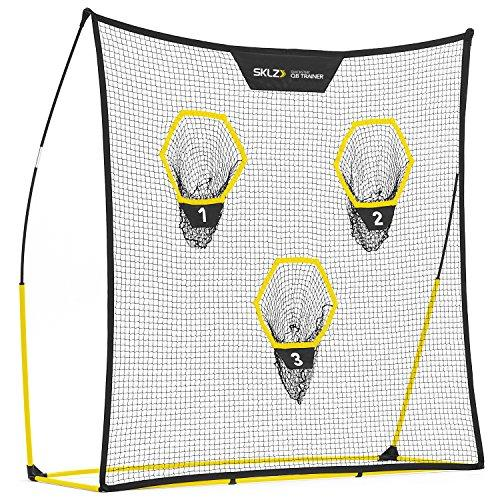 "SKLZ Quickster QB Football Trainer Net w/Target. Ultra-Portable, Quick Setup. 7"" x 7""."