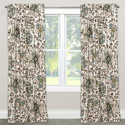 Skyline Furniture Window Treatment, Silsila Rhinestone, 96""