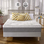 Sleep Innovations Mattress, Foam, White, Twin