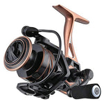 Small Lake 5.2:1 Spinning Wheel Fishing Reel 2500S 2000 3000 4000 5000 Metal Body Carbon Fiber Drag 9-15Kg Fishing Reel,10,2500 Series