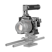 SMALLRIG A7III Camera Cage Kit for Sony A7RIII / A7III Camera with Top NATO  Handle and HDMI Cable Clamp - 2096