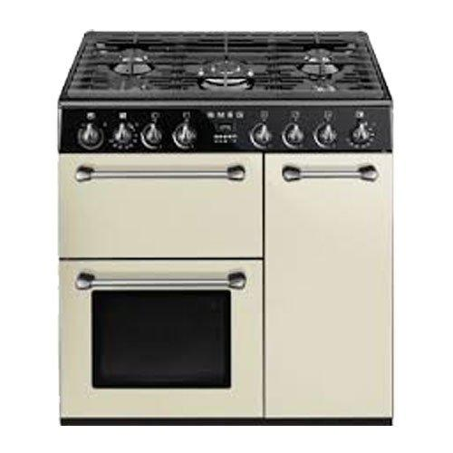 Smeg bm93p Own 158L Black, Oven and Stove – Ovens & Cookers (Cream, Medium, Electric, Gas, 245 – 50 °C 444 x 425 x 316 mm)