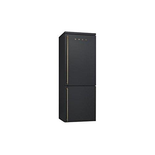 Smeg FA8003AO freestanding 356L A+ Anthracite Fridge Freezer – Refrigerator (356 L, SN-T, 18 kg/24h, A+, Fresh Zone Compartment, Anthracite)