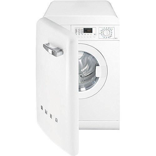 Smeg lbb14wh-2 Freestanding Front-Load 7 kg 1400rpm A + + White – Washing Machine (Freestanding, Front Loading, White, LED, Amber, Left)