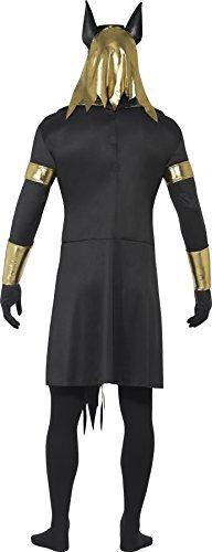 smiffys adult mens anubis the jackal costume tunic collar arm cuffs armbands