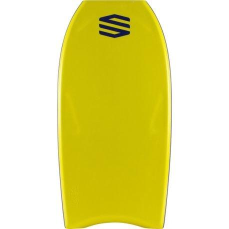 Sniper Bodyboard Moz Next NRG Crescent Tail 41 Inches Yellow/Silver, yellow, 41 Inches