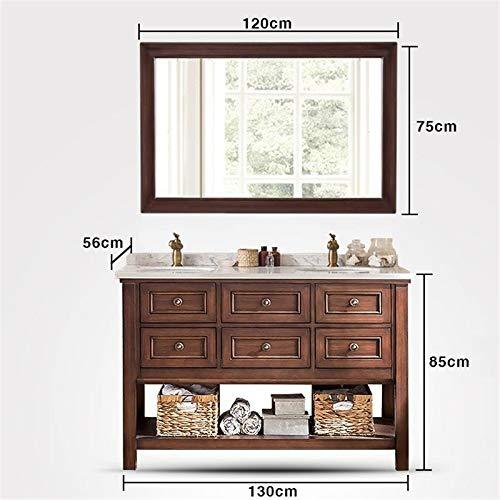 SNOLEK Marble Under Counter Basin Storage Cabinet European-style Floor Bathroom Cabinet MODEL G