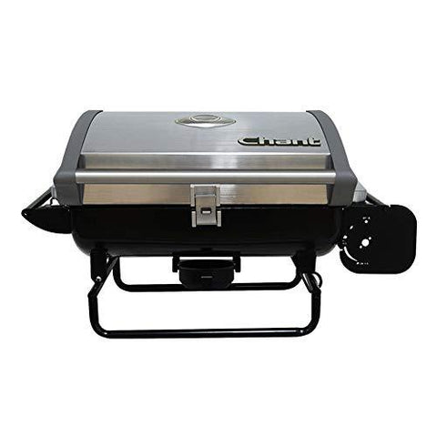 SOHOH Barbecue home ball grilled to lock fresh and tender outdoor charcoal folding stainless steel grill portable grill