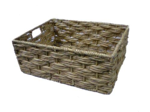 Somerset Levels Wicker Storage Basket Water Hyacinth - Large