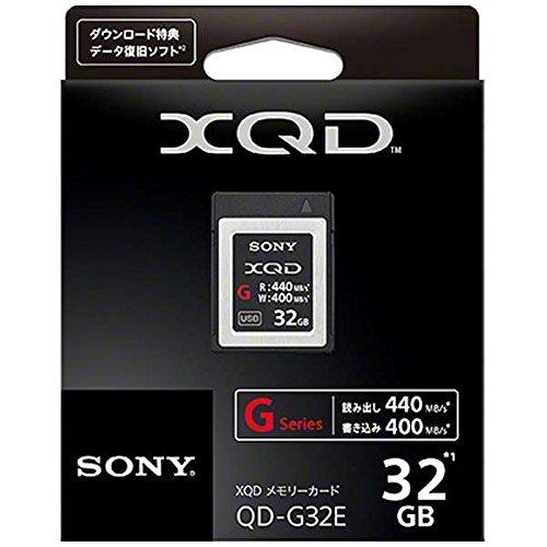 Sony 32GB XQD Flash Memory Card - High Speed G Series ( Read 440MB/s and Write 400MB/s) - QDG32E