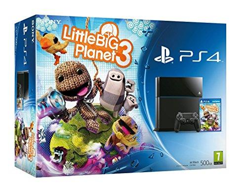 Sony Playstation 4 Console PS4 500GB Little Big Planet 3 Bundle Game Great gift for the Kids