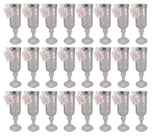 Southern Homewares Redneck Champagne Flute, Pack of 24