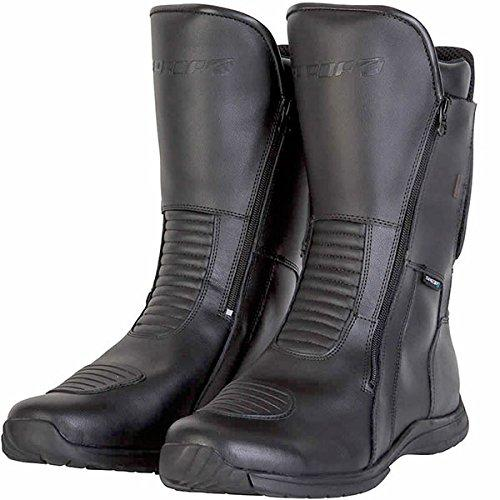 Spada Hurricane 2 WP Motorcycle Boots 41 Black (UK 7)