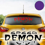 'Speed Demon A162 Auto Sticker 60 cm x 17 cm Available in 49 Colours and 4 Sizes