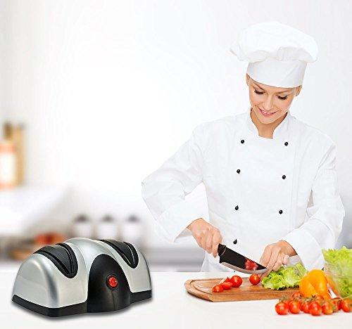 Splink Electric Knife Sharpener Two Stage Knife Sharpener for all sizes of Japanese and German Knives