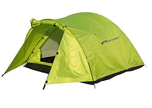 Spokey Unisex's Classic Iii 3 People Camping Tent, Multi-Colour, One Size