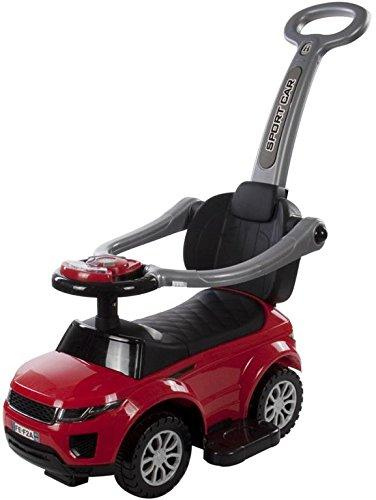 Sport Car Deluxe child's ride-on push wagon -