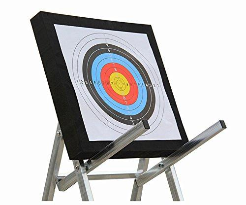 Sportsmann Arrow Target 3D EVA Foam Sponge 50x50x5cm with 6pcs Targets Paper for Recurve Bow Training Practice Games
