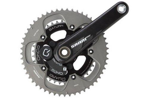 Sram BB30 Chainset S975 1725- ISOUND - 5339 with Sensor Power Wire Quarq S/S/toilet bowls
