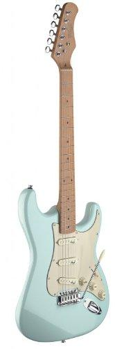 Stagg SES50M-SNB Vintage Style Electric Guitar - Sonic Blue