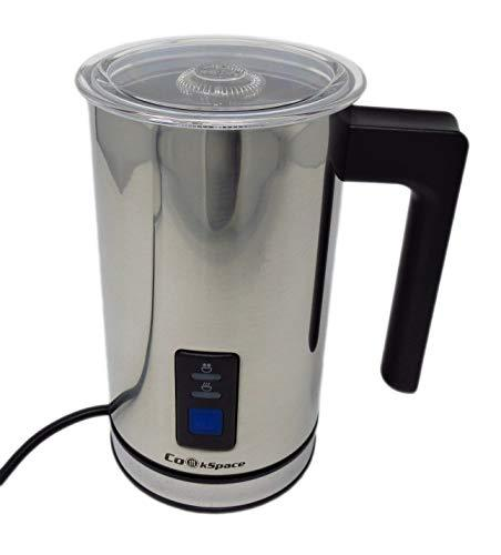 Stainless Steel Milk Frother Warmer and Cappuccino Foamer