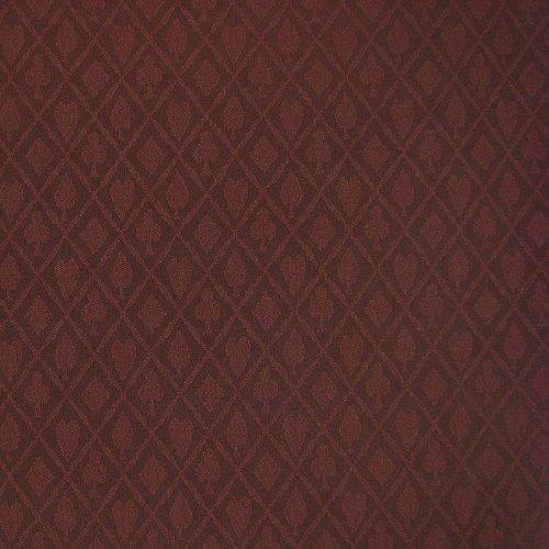 Stalwart 3 Yards of Suited Waterproof Poker Table Cloth, Burgundy
