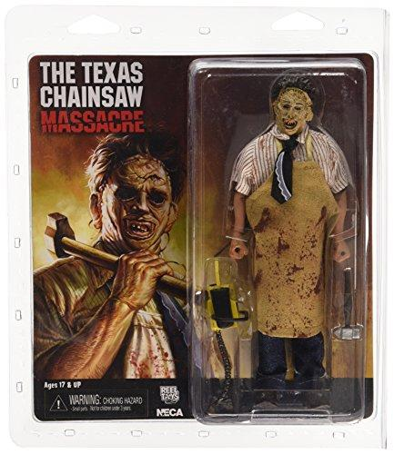 Star images 14910 8-Inch Texas Chainsaw Massacre 40th Anniversary Leather Face Clothed Figure