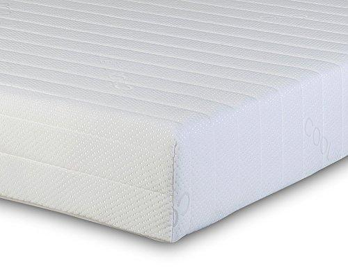 Starlight Beds - Single Mattress. Luxury Single Memory Foam Mattress. 5 Zone Single Mattress With Knitted Cool Touch Micro Quilted Sleeping Surface. Fast, (3ft x 6ft3 Single Mattress)(90cm x 190cm)
