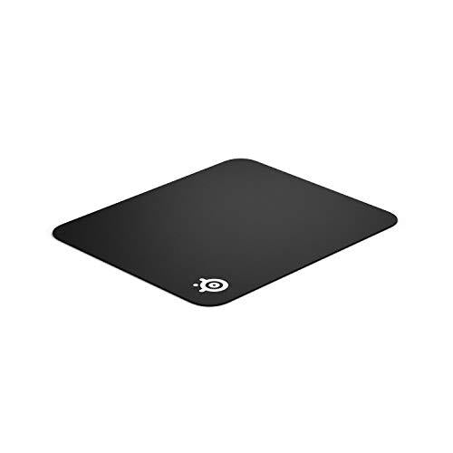 SteelSeries QcK - Gaming Mouse Pad - 320 x 270 x 2mm - Cloth - Rubber Base - Black