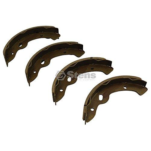 Stens 851-224 Metal Brake Shoes, Fits E-Z-GO: Gas and Electric, 1997 and Newer, and TXT, 1996, Yamaha: G14, G16 and G19, Gas and Electric, 1993 and Newer