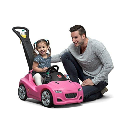 Step 2 Whisper Ride Cruiser Push Car, Pink