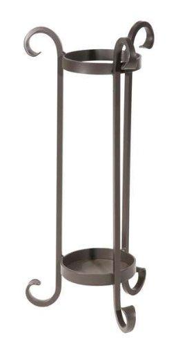 Stone Country Ironworks Scroll Umbrella Stand, Natural Black 205727-OG-142965-O-760854, O
