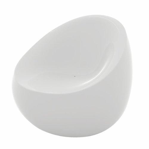 Stones Armchair white/glossy