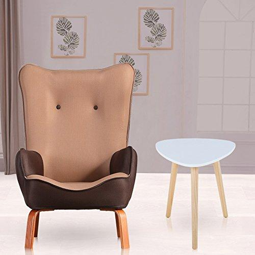 Stools MEIDUO Durable Kids Childrens With Fabric Chair Armchair Sofa Seat for Equally ideal for both home and Indoor outdoor (Color : Coffee color, Size : Chair and table)