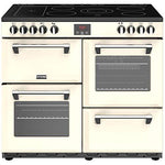 Stoves Belmont 90E Freestanding Electric A/A/A Rated Range Cooker -Cream