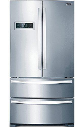 Stoves FD90SS Freestanding A+ Rated American Fridge Freezer - Stainless Steel