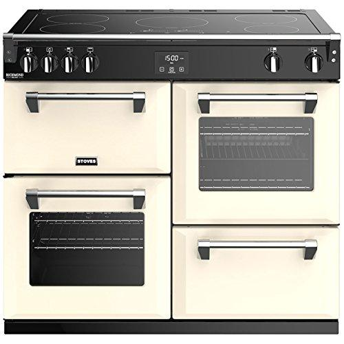 Stoves Richmond Deluxe S1000EI Freestanding A/A/A Rated Electric Range Cooker -Cream