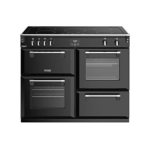 Stoves Richmond Deluxe S1100EI Freestanding A/A/A Rated Electric Range Cooker -Black