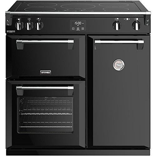 Stoves Richmond Deluxe S900EI Freestanding A/A/A Rated Electric Range Cooker -Black