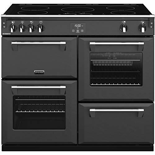 Stoves Richmond S1000Ei Freestanding Electric A/A/A Rated Range Cooker -Anthracite
