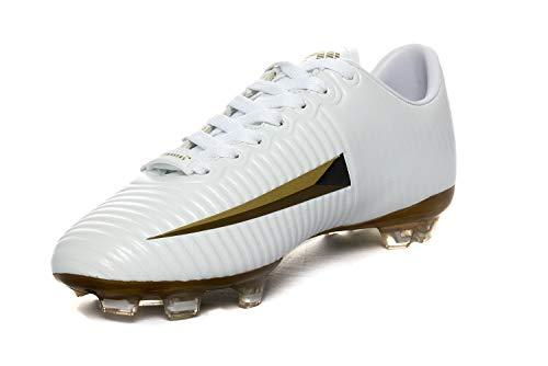 Stylo Matchmakers Men's Modernised Football Boots Heirship Seventeen: (7.5 UK) White