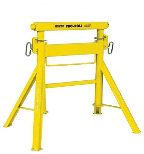 "Sumner 780446 Pro Roll with Bar Stock Head, 29"" to 43"" Adjustable Height, 2000 lb. Capacity"