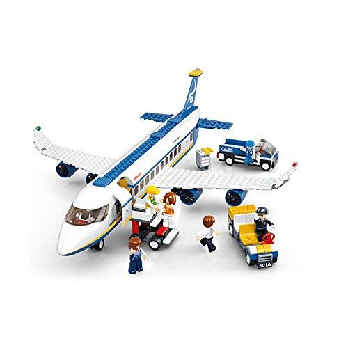 Sunasd Building Game Building Blocks Toys Assembling Building Blocks Airplane Models Children'S Toys Birthday Gifts   , Airbus