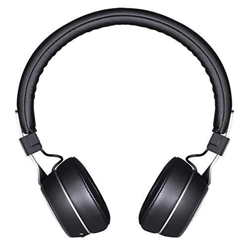 Sunliking Wireless Noise Canceling Bluetooth Headphones with Mid HI-FI Deep Bass, CD-Like Audio, On Ear Fashion Headphones Foldable Headset for Airplanes Travel Work TV Tablet PC and More