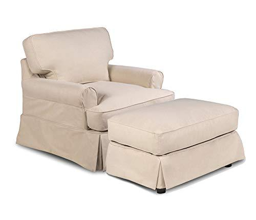 Sunset Trading SU-117620SC-30-391084 Horizon furniture-slipcover Configurable Tan