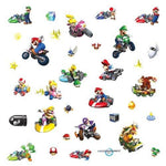 Super Mario Kart Wall sticker parallel import goods to be able to tear off and put (japan import)