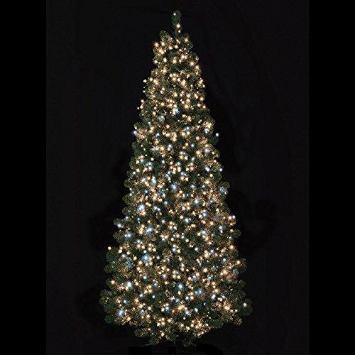 super sparkle 1000 white warm white led christmas tree lights