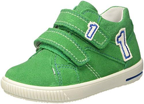 Superfit Baby Boys'' Moppy Trainers, (Grün Kombi), 5.5 UK