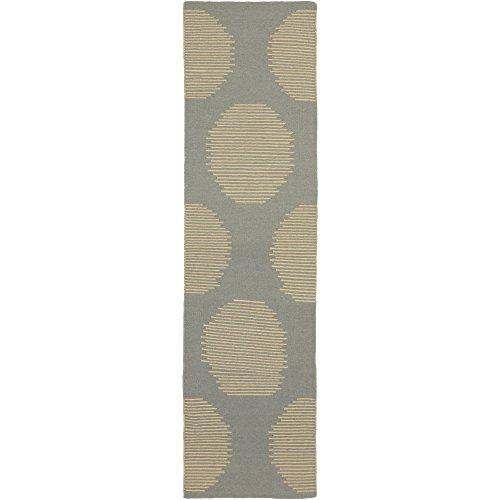 "Surya Frontier Hand Woven Gray 2'6"" x 8'Area Rugs"