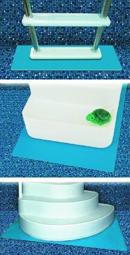 Swimline Hydro Tools 87956 Protective Pool Ladder Mat and Pool Step Pad, 36-Inch by 36-Inch